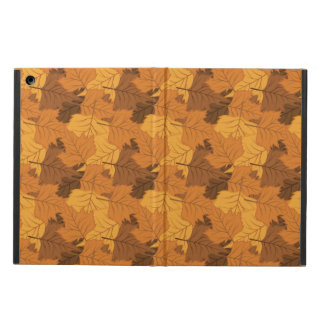 Autumn leaves background iPad air cover