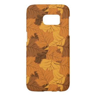 Autumn leaves background samsung galaxy s7 case