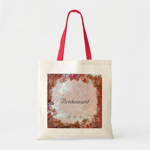 Autumn Leaves Canvas Bag