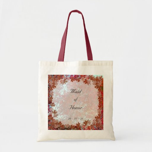 Autumn Leaves Tote Bags