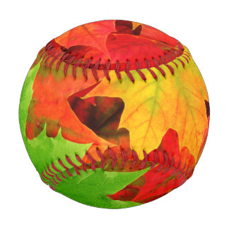 Autumn Leaves Baseball