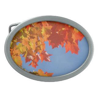 Autumn Leaves Belt Buckles custom unique Designer