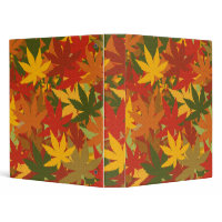 Autumn Leaves binder