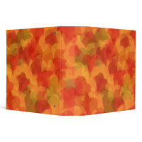 Autumn Leaves Binder binder