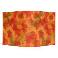 Autumn Leaves Binder binder