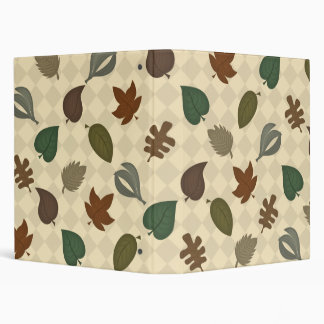autumn leaves binder