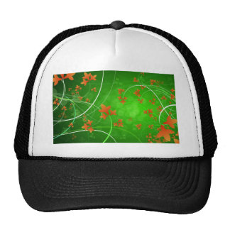 Autumn Leaves Blowing In The Wind Trucker Hat