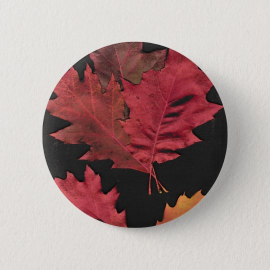 Autumn Leaves Button