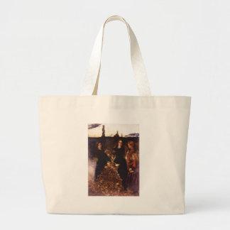 Autumn Leaves by John Everett Millais Tote Bags