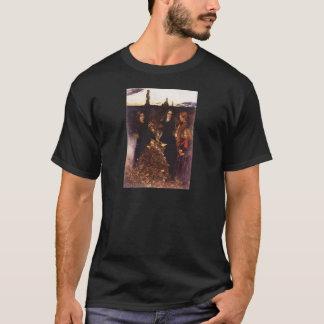 Autumn Leaves by John Everett Millais T-Shirt
