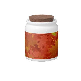 Autumn Leaves Carpet Candy Dish