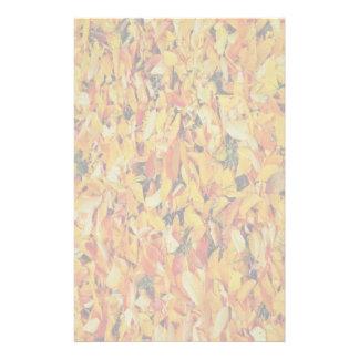 Autumn leaves carpet customized stationery