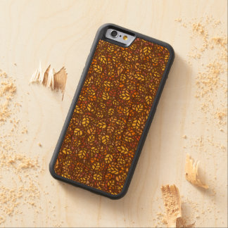 autumn leaves carved cherry iPhone 6 bumper case
