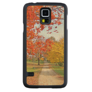 Autumn Leaves Carved® Maple Galaxy S5 Case