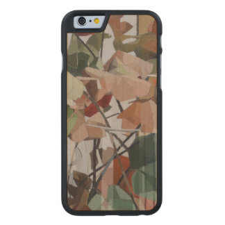 Autumn Leaves Carved Maple iPhone 6 Slim Case