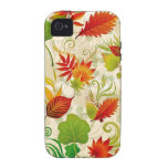 autumn leaves Case-Mate iPhone 4 cases