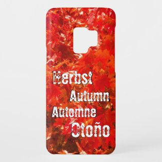 Autumn leaves Case-Mate samsung galaxy s9 case