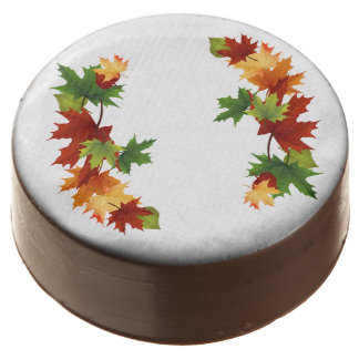 Autumn Leaves Chocolate Covered Oreo
