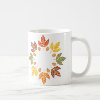 Autumn Leaves Coffee Mug