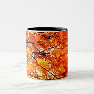 Autumn Leaves Coffee Mug Coffee Mugs