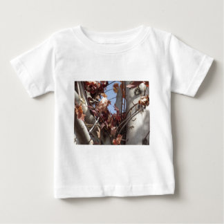 Autumn Leaves Collecting in Tree Baby T-Shirt