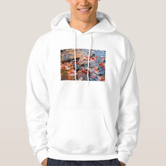 autumn leaves color hoodie