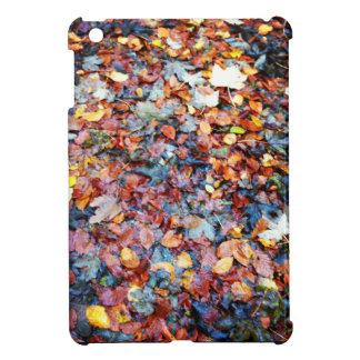 Autumn leaves cover for the iPad mini