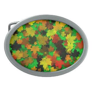 Autumn Leaves Design Belt Buckles
