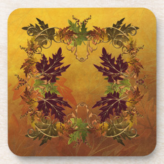 Autumn Leaves Drink Coaster