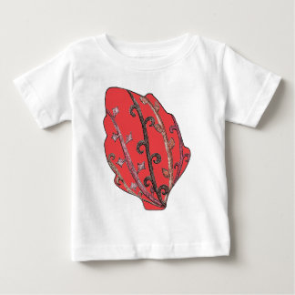 Autumn Leaves Engraved Motif Baby T-Shirt
