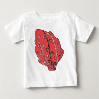 Autumn Leaves Engraved Motif Tee Shirt
