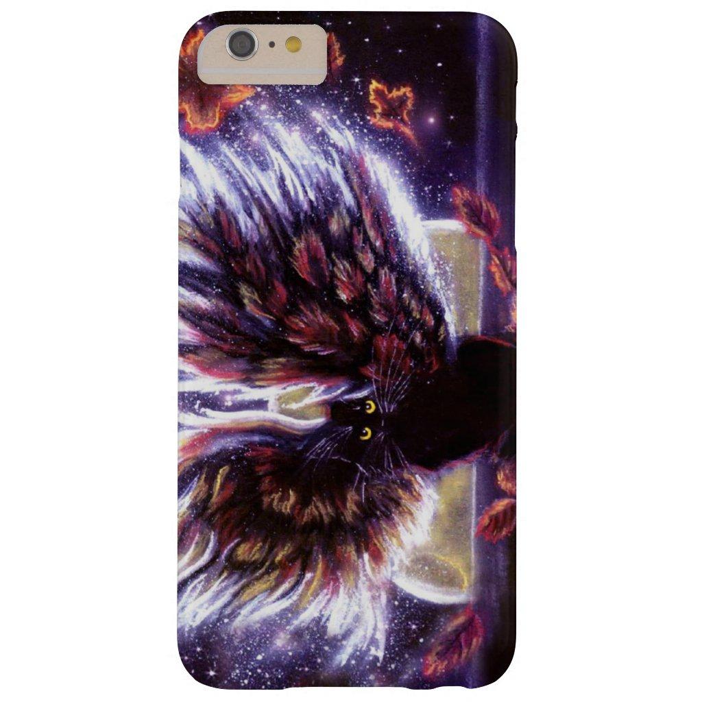 Autumn Leaves Fairy Cat Phone Case
