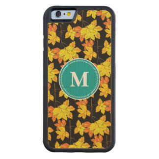 Autumn Leaves Fall Carved Maple iPhone 6 Bumper Case