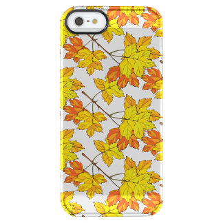 Autumn Leaves Fall Clear iPhone SE/5/5s Case