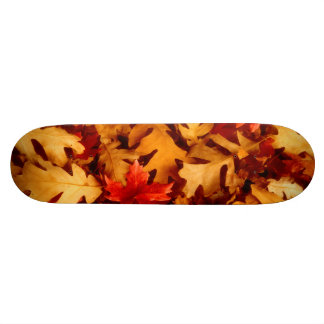 Autumn Leaves - Fall Color Skateboard Deck