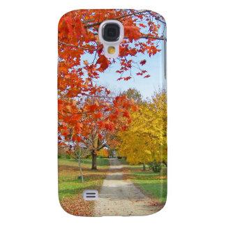 Autumn Leaves Fall Galaxy S4 Case
