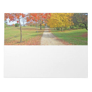 Autumn Leaves Fall Memo Pads