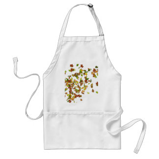 AUTUMN LEAVES, FALL STYLE ADULT APRON