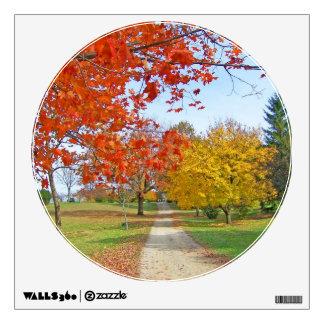 Autumn Leaves Fall Wall Sticker