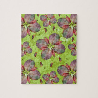 Autumn Leaves Falling Jigsaw Puzzle
