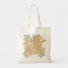 Autumn Leaves First Day Of Fall Tote at Zazzle
