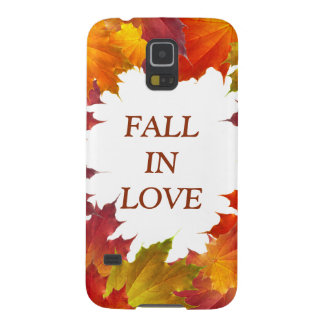 Autumn Leaves Galaxy S5 Cover