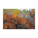 Autumn Leaves Gallery Wrap Canvas