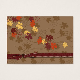 Autumn Leaves Gift Tag