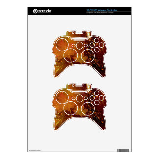 autumn, leaves, golden brown xbox 360 controller skin