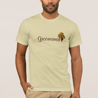 Autumn Leaves - Groomsman T-Shirt