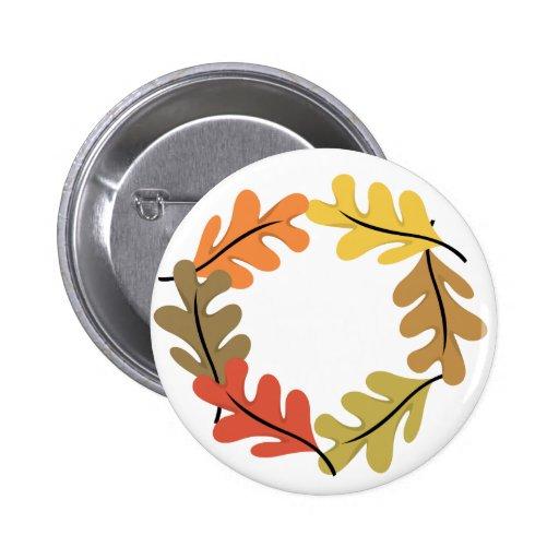 Autumn Leaves Hoop Pin
