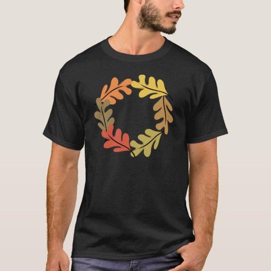 Autumn Leaves Hoop T-Shirt