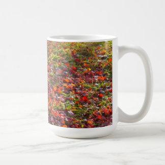 Autumn Leaves & Hydrant Mug