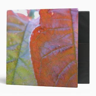 Autumn Leaves I 3 Ring Binder